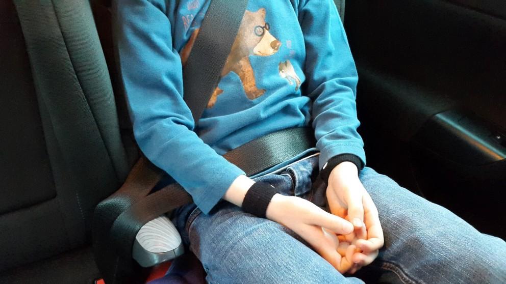 Drukpunt armbandjes tegen wagenziekte