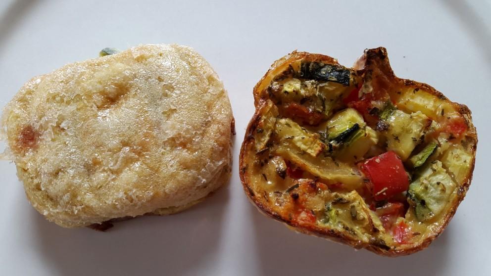 Probeer deze glutenvrije groenten-soccabroodjes eens.   Dit smaakt naar meer!