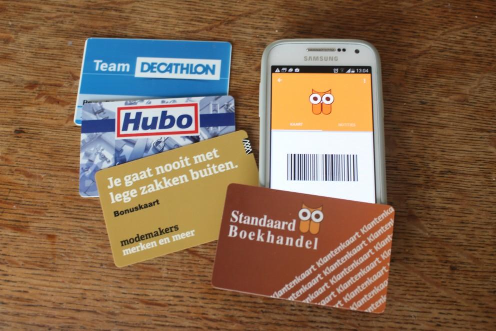 Een app voor klantenkaarten/pasjes.