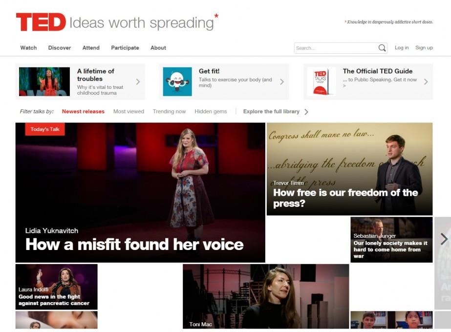 Laat je inspireren en onderwijzen met TED!!!  Het goede nieuws: leerrijk en veelal gratis te bekijken!!!
