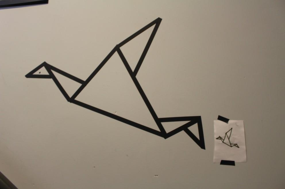 Wall tape art, pimp je muren met een vleugje zelfgemaakte kunst!